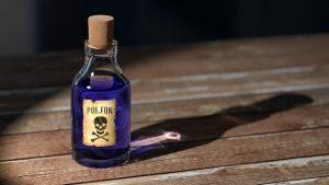 Aceton giftig?