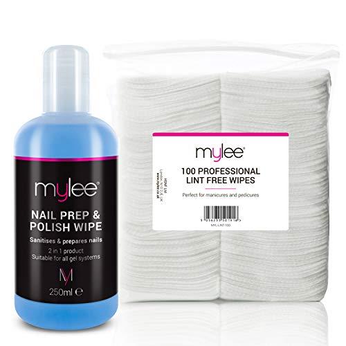 Mylee UV/LED Nagellackentferner und 200 fusselfreie Tücher